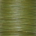 Leather khaki 1.5 mm coil of 50 mt