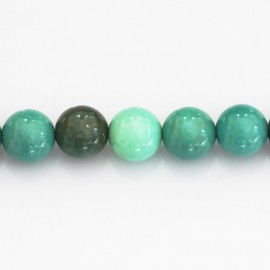 BeauMonde Jewelry - Opal green 10 mm round bead