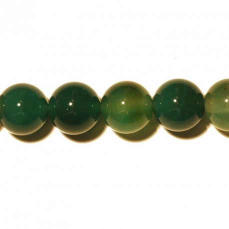 BeauMond Jewelry - Agate round green 10 mm