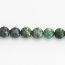BeauMonde Bijoux - Fuschite 8 mm perle ronde