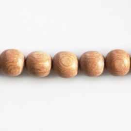 Rosewood 10 mm round bead