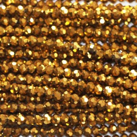 BeauMonde Jewelry - Bead 3 mm round faceted