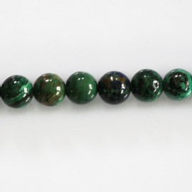 Azurite 8 mm bead round quality A Africa