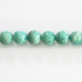 Amazonite 8 mm round bead Africa