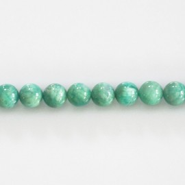 Amazonite 6 mm round bead Africa