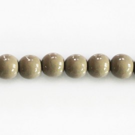BeauMonde Jewelry - Wooden 8 mm round bead