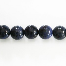 Dumortierite 10 mm perle ronde