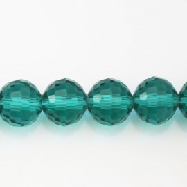BeauMonde Jewelry - Glass bead 12 mm faceted round