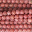 Rhodonite 4/4.5 mm perle ronde