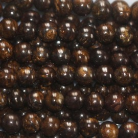 BeauMonde Jewelry - Bronzite 3 mm round bead