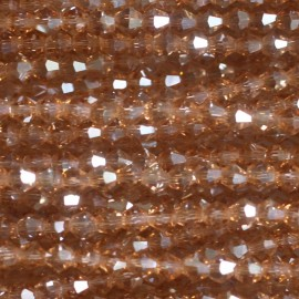 BeauMonde Jewelry - Conical glass bead 4 mm