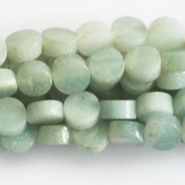 Amazonite 6 mm médaillon