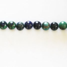 BeauMonde Jewelry - Azurite 6 mm round bead quality A Africa