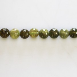 BeauMonde Jewelry - Garnet green 6 mm bead round