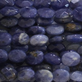 Sodalite 6x8 mm ovale faceté