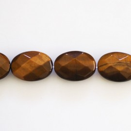BeauMonde Jewelry - Tiger eye 10x14 mm oval faceted