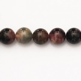 BeauMonde Jewelry - Tourmaline 10 mm round mixed bead