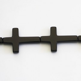 BeauMonde Jewelry - Onyx 20x30 mm cross