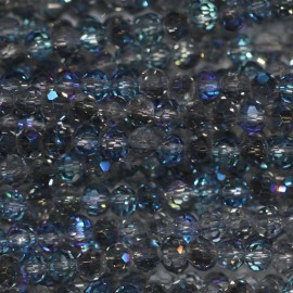 Bead 3 mm round faceted