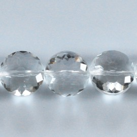 BeauMonde Jewelry - Bead 14 mm faceted medallion