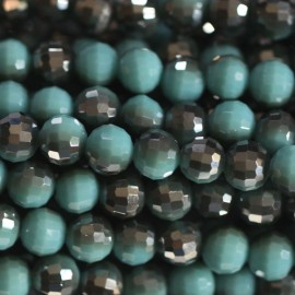 BeauMonde Jewelry - Bead 6 mm round faceted