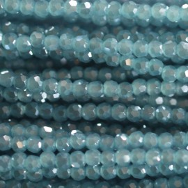Bead 2 mm round faceted