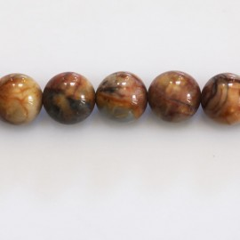 BeauMonde Jewelry - Jasper venus 10 mm yellowish round bead