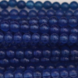 Agate 3 mm perle ronde