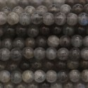 Labradorite round beads 4 mm