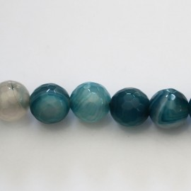 BeuMonde Jewelry - Agate 10 mm round faceted bead