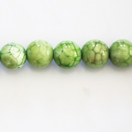 Agate 10 mm round bead