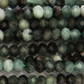 BeauMonde Jewelry - Emerald 2.5x4 mm faceted washer