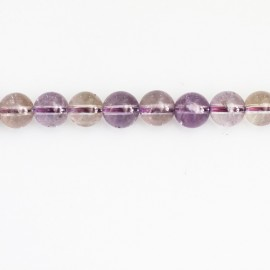 Ametrine 6 mm round bead