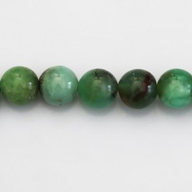 Chrysoprase 10 mm perle ronde