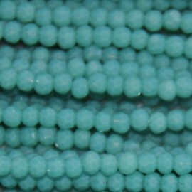 Pearl 6 mm round faceted bead