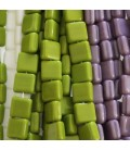 Square shape beads