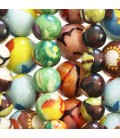 Round bead colorful series