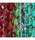 Colorful series of beads