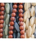 Lustrous series of beads