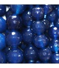 Agate oil blue