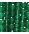 Agate emerald green