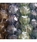 Beads in facets 10 mm large hole