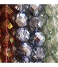 Beads in facets 8 mm