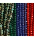 Faceted stones 3 mm