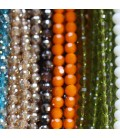 Glass bead 6 mm thin facets
