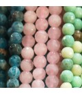 Faceted stones 6 mm
