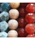 Faceted stones 10 mm