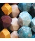 Faceted stones 14 mm